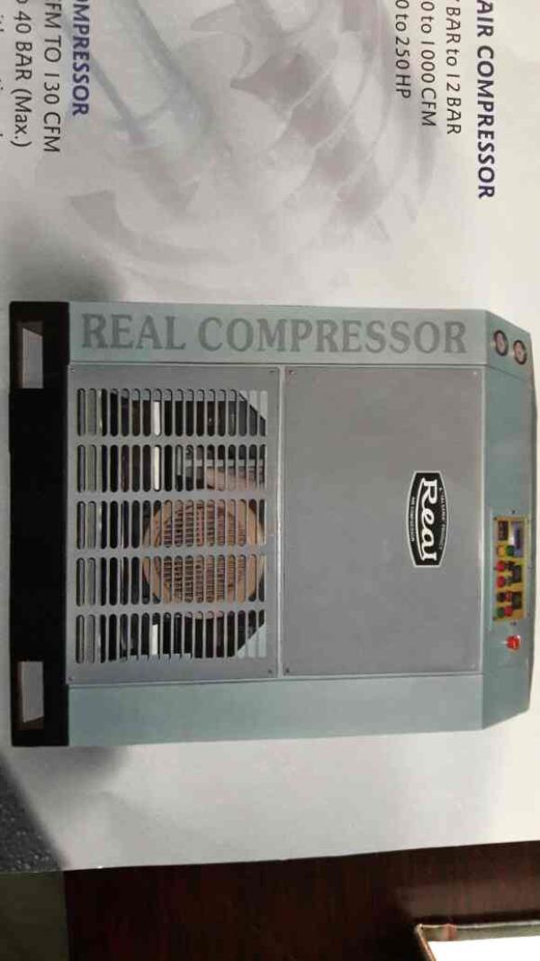 We are the leading manufacturer of Screw Air Compressor in Ahmedabad and we never compromise in quality