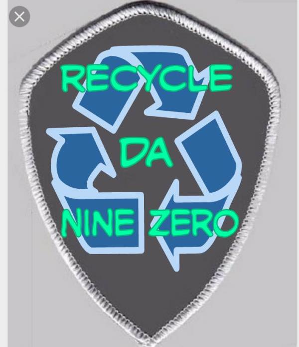 New Recycle Da Nine Zero Patch  #PatchItUp #The90'sClub