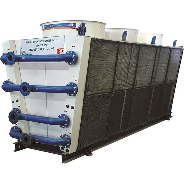 Terms of location for GEM Dry Cooler : Single units :  The Gem Dry Cooler should be located in such a way that air flow is free and no circulation of hot air.For proper air flow, access on all sides of the units should be a minimum of ''W'' - by Gem Equipments Pvt Ltd, Bangalore