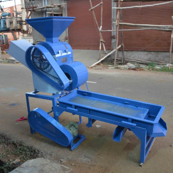 Manufacturers of Groundnut Processing Machines  200 kg/h Groundnut Decorticator cum Grader which runs on 2HP electric Motor.  For more info: http://www.perfuratech.com/other-machines.html