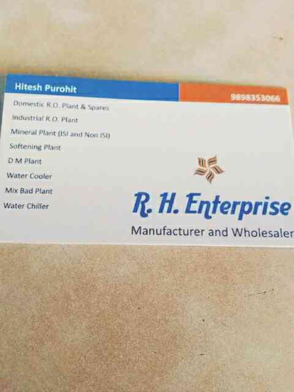 domestic RO in ahmedabad - by RVH ENTERPRISE , Ahmedabad