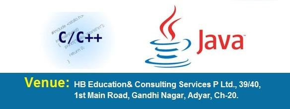 C, C++ Training Institute In Adyar  Join C, C++ at HB Educational Services, Adyar