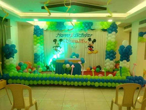 Chennai balloon Decorater in chennai
