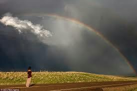 Try to be a rainbow is someone's cloud...  Sukoon Foundation - De Addiction Center For Women In Rohini Delhi