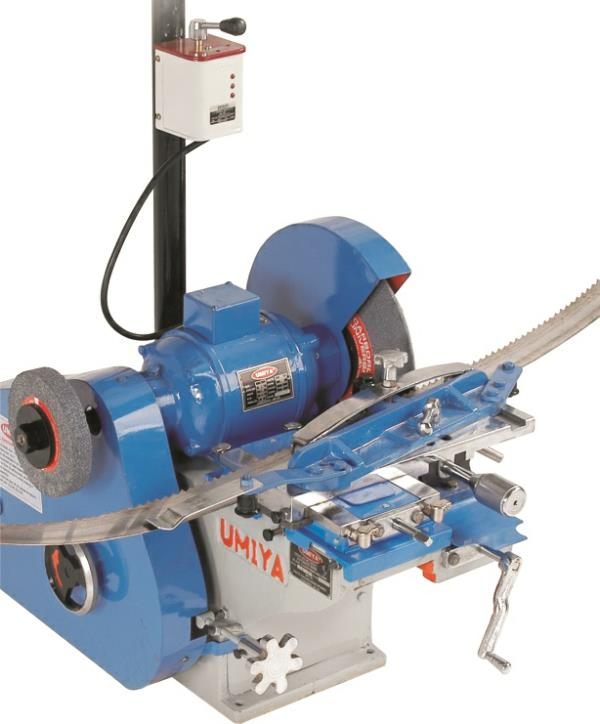Automatic Band Saw Blade Grinder. These superior quality Blade Grinders are manufactured from excellent quality raw materials which ensures high durability at its user ends. - by VAIBHAVLAXMI INDUSTRIES, Ahmedabad