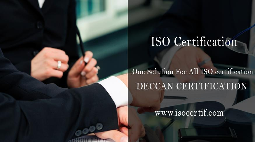 Deccan Certifications provides global assessment and certification services in the field of: ISO 9001, ISO 22000, HACCP & ISO 29990 Certification services....for more information visit our site...http://www.isocertif.com/