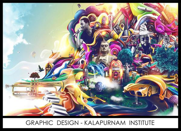 Visual Communication with Graphic and Logo design:-  Course covers all concepts of #Photoshop, #Illustrators, #Indesign and #Corel Draw. Covers wide range from illustrating children books to design layout for tabloids, book covers, motion graphics, UI design, creative posters, traditional #Animation and corporate brand designs. Prepares to join the ever-expanding world of print and visual media by providing a detailed insight on graphic, #Web design and #2D animation.