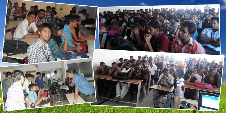 Our various presentations and classes at different colleges in Bangalore. - by Srija tech Education, Bengaluru