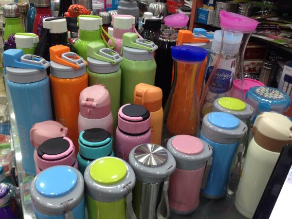 Huge range of cold water bottle in our store with different color - by indian crockery 35, Beaver County