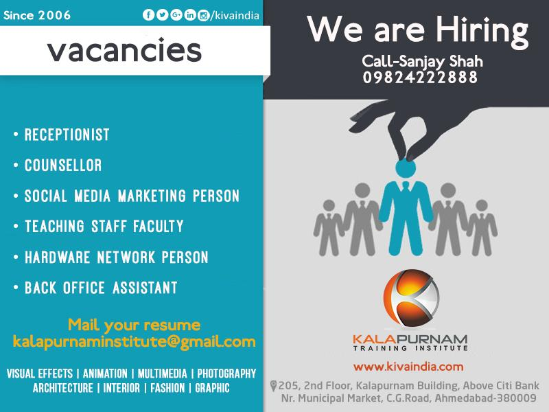"Job Vacancy Following is requirement of our client ( original requirement as per below mentioned , which is self explanatory ) - - - - - - - - - - - - - - - - - - -  Job description 1. Designing & Conceptualizing mens casual wear with focus on Shirts in different forms of fabric. 2. Experience of mens fashions of minimum 2 years.  3. This position is responsible for all aspects of the product design process – Trend research, Designing, Flat sketching, Tech packs and ensuring that product is designed to meet target customer profile and business strategy for brand. 4. Creating presentations and line sheets for the season with strong computer skills in Photoshop, Adobe, CorelDraw, 3DS MAX. 5. Thorough knowledge of fabrication of garment, and different processes involved for the same.  6. Thorough knowledge of label design and accessories design. 7. Strong organisation and Time management keeping product development on track and in line with development schedule. 8. Open minded and good communication skills. Industry Apparel and Fashion Employment type Full-time Experience Mid-Senior level Job function Design, Production Management Salary  Rs 1, 44, 000/- p.a.- Rs 2, 16, 000/- p.a. Company Profile Coloroid is a brand label run by Amigo's and Co. (partnership firm). It was established in 2013."" An amalgam of exuberance, quality and sophistication, Coloroid delivers products with great finesse. Coloroid procreates an exclusive line of men's shirting entirely fabricated by professionals, available in myriad of colors and designs at the most affordable prices, with the sole aim of satisfaction and reliance on the product."" –Brand image that we follow. With access to major suppliers of fabrics in the industry and focus on latest designs, we have been serving our customers and keeping them delighted since our existence. - - - - - - - - - - - - - - - - - - - Call / WhatsApp : Sanjay Shah 09824222888"