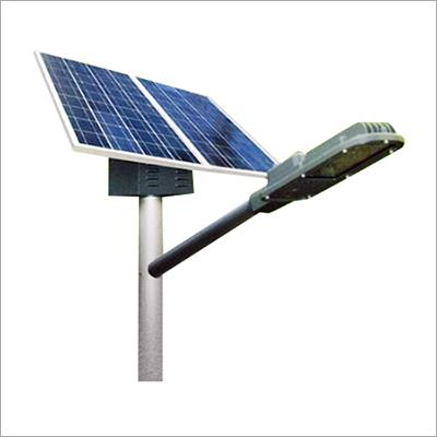 Solar Street Light Solar Street Lighting Systems are raised light sources which are innovatively integrated with power generation, storage and maintenance system, CFL / LED lamp, battery, control electronics, Solar Photo Voltaic Module, Mounting structure and associated hardware. This integrated system is a modern lighting system for illumination of streets, squares, junctions, avenues and key intersections located in areas without access to the power grid. The lighting system is designed aesthetically and really useful for conserving power and producing light in a hassle free manner for the benefit of public. It helps the clients to reduce the power bills and a solution to power cuts. Solar-LED-Street-Light Features: Automatic dusk to dawn / Timer operation Highly efficient PWM/MPPT charge controller and inverter Three step charging algorithm Temperature compensated battery set points Weather proof luminaries Adequate protections and indications Application: Rural street Light Applications Urban Street Light Applications Path Way Lighting Holiday Resorts Lighting Railway and Shipyard Township Campus Lighting Farm House Lighting Amusement Parks Lighting National Parks Lighting Water Source illumination