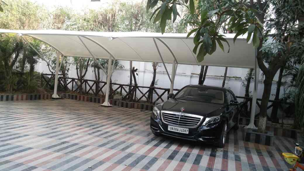 Car Parking Tensile Shelter  We are the leading manufacturer of quality Car Parking Tensile Shelter that is made from Miled Steel and quality fabric material that can sustain difficult weather conditions with ease.We are offering these stru - by Unique Decor, B-11-C Anupam Enclave Phase-1,2nd Floor.saidullajab Ext.saket New Delhi ,110030