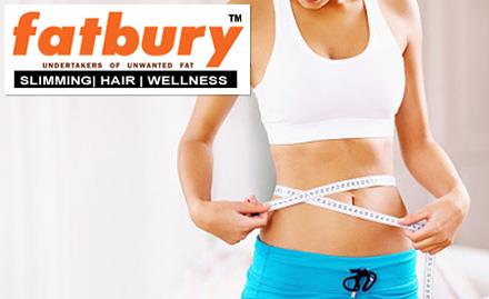 3 KG Weight Loss at Rs.2999 instead of Rs.5999 at Fatbury, KPHB 6 Phase, JNTU Road, Hyderabad<br/><br/>Deal Ends On: June 30, 2016<br/><br/>The Fatbury Clinic in Hyderabad is a weight management centre offering a wide range of integrated slimming services. Their team of experts take personalized care of one client at a time to ensure maximum benefit for all. They combine expertise, excellent diagnostic tools, advanced technologies, state-of-the-art facilities and revolutionary trends in weight loss to give you a complete package! - by Hangman's Design Studio, Hyderabad