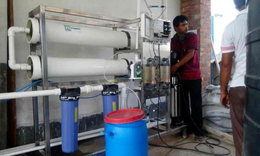 RO process - by Enviro Research, Barrackpore