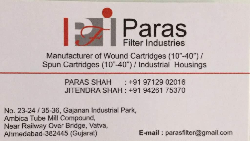 Plz contact for best quality of wound cartridges, Spun Cartridges, industrial housing in Ahmedabad Gujarat India