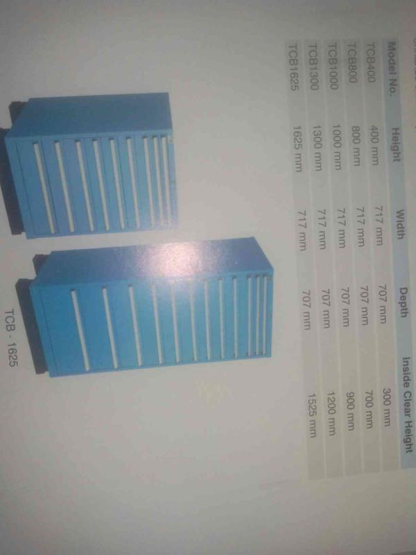 We are number of storage cabinets - by Khira Steel Works, Ahmedabd