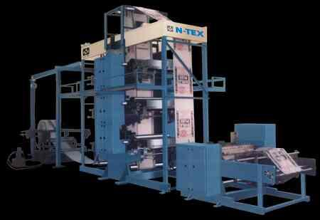 We Are one of the leading manufacturer and exporters of non woven bag making machine, woven bag making machine in Ahmedabad  - by N-TEX ENGINEERING WORKS , Ahmedabad