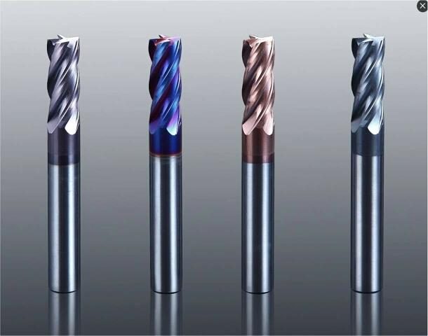 Carbide End/Ball mill cutter - by Aakash Tools Co., Ahmedabad
