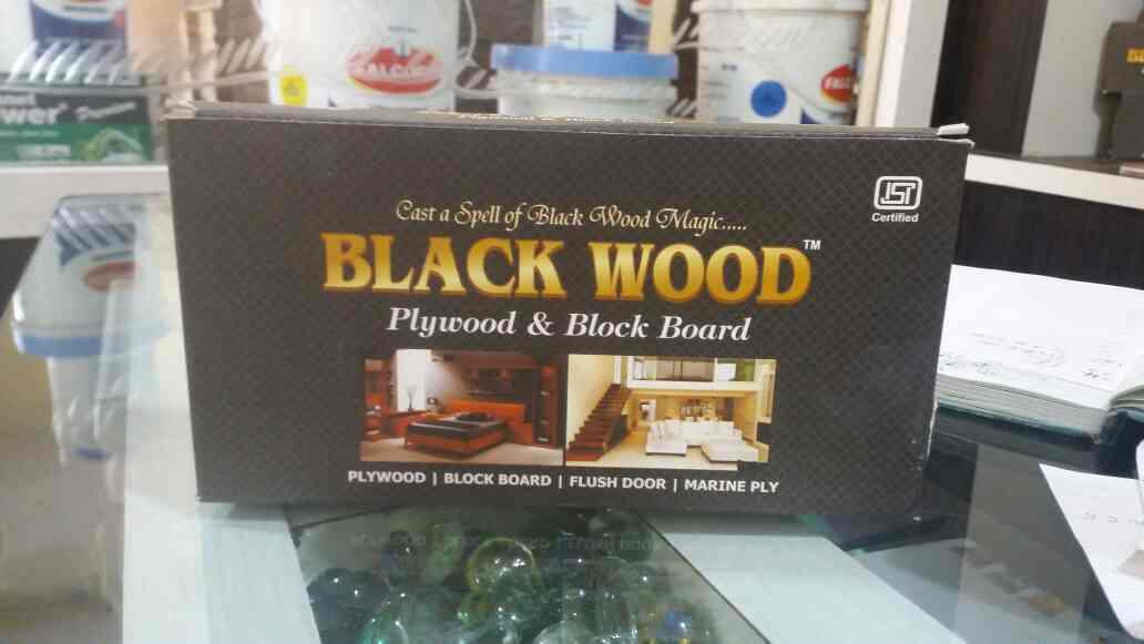 we are suppliers of black wood plywood in mp - by Ohm ply, indore