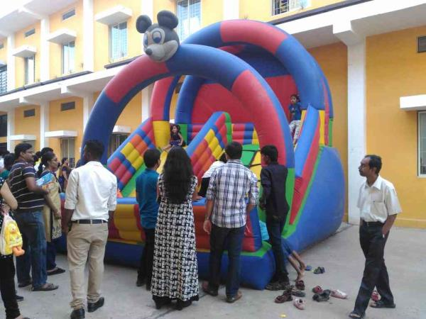 Along with stage entertainment, we provide fun, games. Stall games    Amusements in Banglore. At your place  Jumping Bouncer, merry go rounds, Popcorn, cotton candy, stall Games.  Ball in joker's mouth, dart game, hoola hoop. And many more  - by Sonu Party and Events, Bangalore Urban