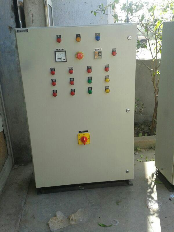 ELECTRICAL PANELS    MCC, PCC, APFC PANEL, AC DB, DC DB/METER PANELS  CONSTRUCTION – MS / SS 304TYPE – FIXED, NON DRAWOUTMOUNTING – WALL / FLOOR MOUNTINGPAIINTING – CHEMICAL TREATMENT AND POWDER COATING FOR MS PANELS. MAT OR MIRROR BUFFING  - by Purvax Engg, Ahmedabad