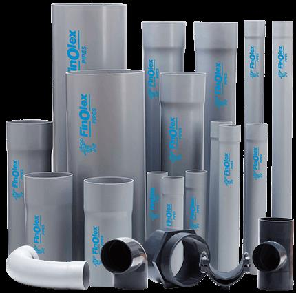 The Selfit (Solvent Cement Joint) pipes have one end self-socketed and the other end plain, which fits snugly without the use of copiers. The strong solvent cement joint is permanent and trouble-free.