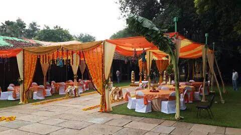 Wedding done in a resort bangalore. The whole event arrangements were done by us.