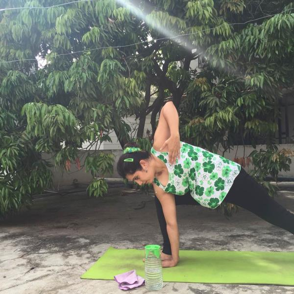 With the International Yoga Day celebrations just around the corner , here are some tips if one is joining the passionate practitioners celebrating in parks and gardens in our beautiful city !   # Always carry a yoga mat with a strong grip. A soft  face towel with some wet wipes.   # wear comfortable clothes , breathable ones to let you relax into the practice.   # carry a bottle of water and a fruit or some nuts to munch as a snack.   # take a mosquito repellent or insect spray along. A calamine lotion or an antiseptic cream too could be a part of your kit.   # apply a moisturiser and a sunscreen ( preferable a light one to let your skin breathe !)   # wear a smile and carry your happy attitude to be a part of this lovely celebration !!!  Stretch. Breathe. Relax !!!