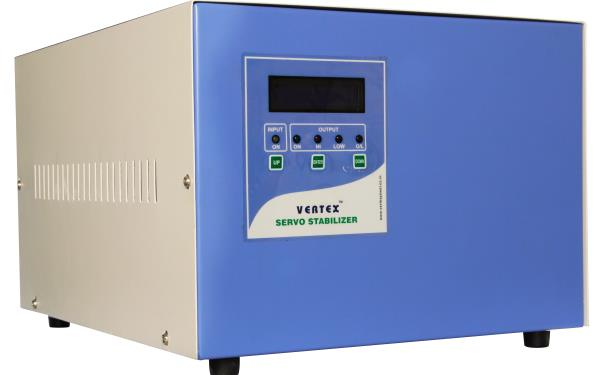 Three Phase Servo Voltage Stabilizers In Chennai  Three phase Stabilizer (Air cooled /Oil cooled) Servo stabilizers are used to protect any critical equipment, which are effected by the fluctuation in the input supply and those equipments d - by VERTEX POWER SOLUTIONS PVT LTD 9940058974, Chennai