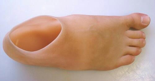 Artificial silicone foot prosthesis - by The Silicone Rehab, Vadodara