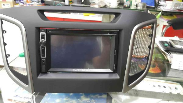 model installed with aftermarket headunit with navigation and reverse camera @motominds