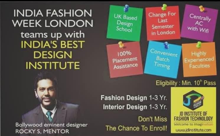 Join India's Best fashion Design Institute Today for Exciting Careers in Fashion & Interior Design Courses, Fashion Photography.  # Fashion Designing institute  - by JD Institute Of Fashion Technology/9999996245, Noida