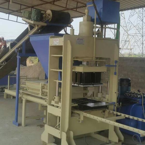 We are leading manufacturer of paver block machine - by Omkar Machie Tools, B/h Bhabha Exports, Panchasar Road, Morbi