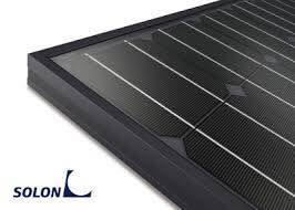 Solon Solar panels made in German Black Line full body black mono high efficiency panel available at Capsol Store   - by Capsol Solar Energy Systems, Al Gharbia