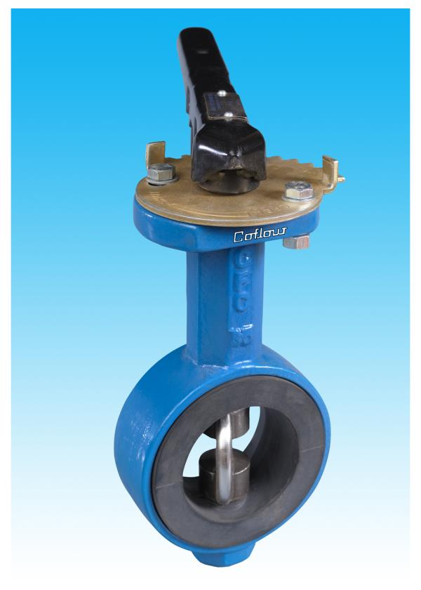 Manually Operated Butterfly Valves In Coimbatore Size : 50 mm to 600 mm Used In All Type Of Industries  - by Coimbatoreflowcontrols, Coimbatore