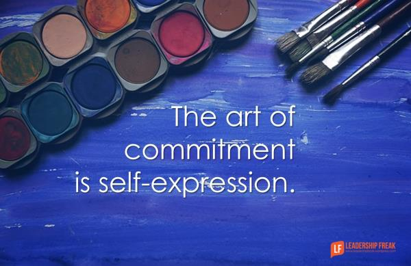 4 Ways to Practice the Art of Commitment http://ow.ly/NWZP501xMb3