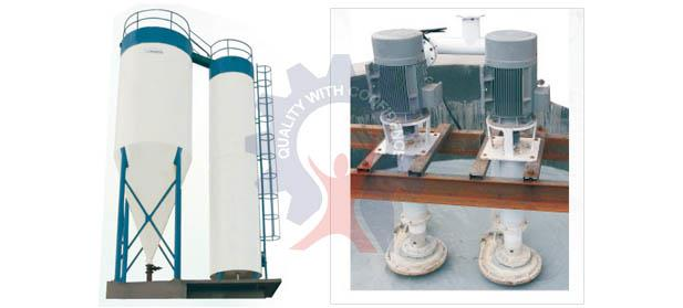 OUR PRODUCT                                                                WATER SEDIMENTATION (TREATMENT) PLANT	    WATER SEDIMENTATION PLANT it consist of two tanks one is conical tank & Other is Cylindrical Tank. The Slurry Sedimentation - by Prem Engineering works - call us 9828056125/ 9828044146, Udaipur