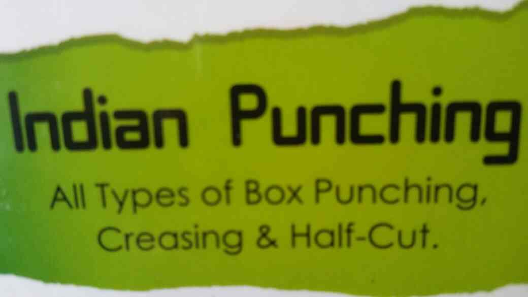 Indian Punching is our premium service where we are doing all type of Box Punching in Vadodara, Gujarat. - by Indian lamination, Vadodara