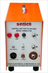 TIG WELDING CONTROL UNIT manufacturer and supplier in Vadodara, Anand, Vidyanagar, Ahmedabad, Bharuch, Ankleshwar, Surat, Gujarat. - by Star Electrical & Mechanical Co., Vadodara
