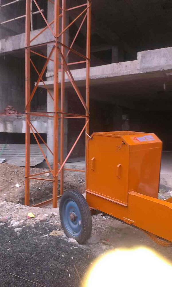 Tower hoist chanal type