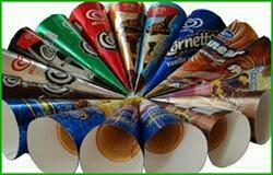 leading manufacturer of ice cream foils in Vadodara Gujarat India. - by TOPNOTCH FOODS LLP, V.U.Nagar