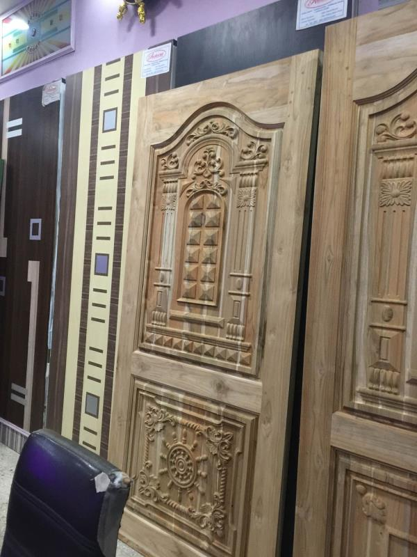 Original ghana / Nigeria teak doors now available at VARDHAMAN Plywoods  - by Vardhaman Plywoods, Coimbatore