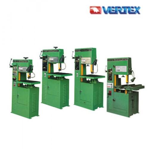 Vertical Bandsaw  Y310  A Bandsaw Uses A Blade Consisting Of A Continuous Band Of Toothed Metal Rotating On Opposing Wheels To Cut Material. They Are Used Principally In Woodworking, Metalworking, And Lumbering, But May Cut A Variety Of Mat - by S&T ENGINEERS, Coimbatore