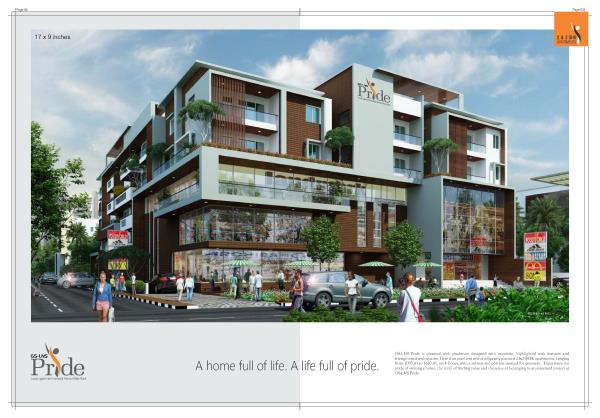 Unfurnished Luxuries Flats at Hennur main road  LNS Pride project is Luxury Flats with high end specifications and approved by BBMP, Ground + 4 Floors, altogether 48 Luxury Flats with world Class Amenities at affordable PRICE. Project with  - by Indiprop.com, Bengaluru