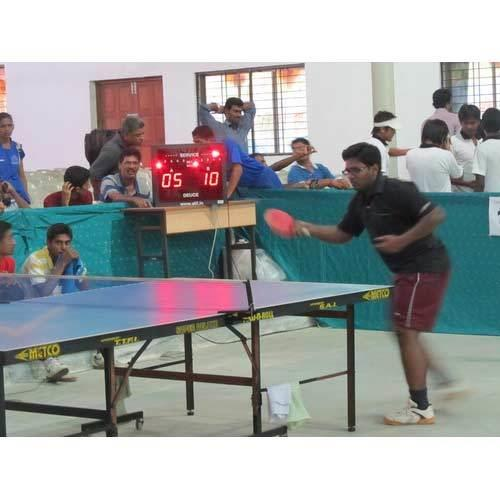 Table Tennis Scoreboards Suppliers  We are among the prominent names in the industry, engaged in offering Table Tennis Scoreboards for our revered customers. The offered score boards display the score of each player, the time elapsed since  - by Unab Technologies Pvt Ltd, Coimbatore