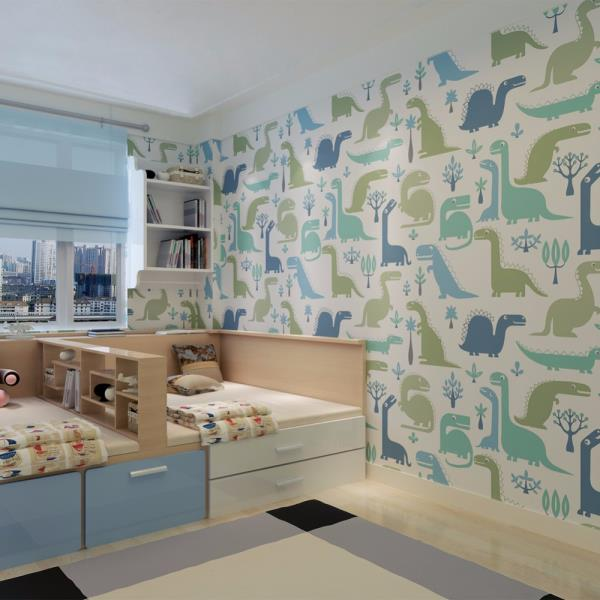 TYPES OF WALLPAPER  Wallpaper Made of Paper Paper-based wallpaper usually consists of two layers of paper. The outer layer is embossed and printed in color. The inner layer serves as a supporting material and, during renovation, it remains - by The Magic Box, Pune