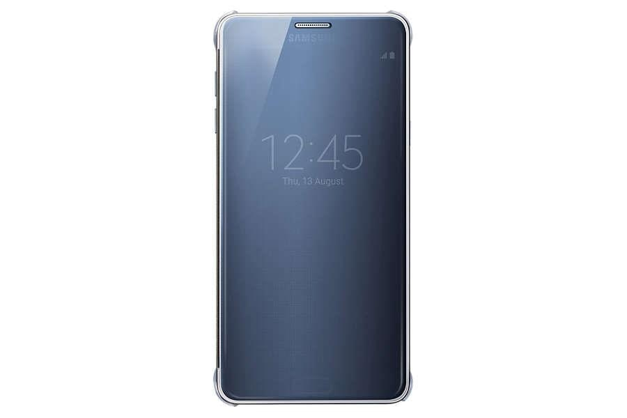 Samsung Galaxy Note 5 Clear View  Flip Cover Blue And  Black  Contact - Omm saravana mobiles Madurai 7200065678 - by Omm Saravana Mobiles 7200065678, madurai