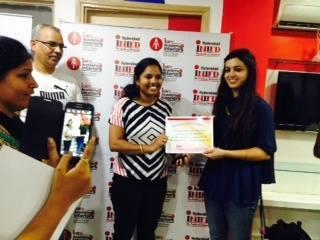 Celebrity Designer Karishma Sahani Conducted Workshop to our fashion design students at  INIFD HIMAYATNAGAR - by INIFD HYDERABAD, Hyderabad