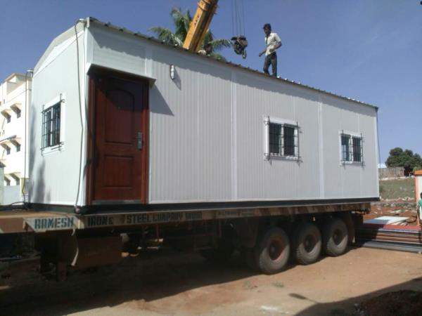 Portable Office Container Manufactures.  - by R2 Associates, Coimbatore