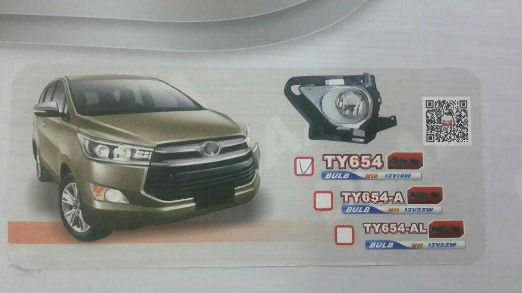 Oem standards foglight for innova crysta available @motominds